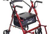 Medical Transport Chair Walmart Drive Duet Rollator Transport Chair Medical Diy Pinterest