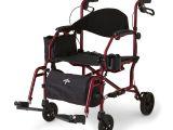 Medline Combo Rollator Transport Chair Combination Rollator Transport Chair Medline Industries Inc