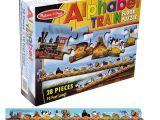 Melissa and Doug Floor Puzzles Alphabet Train Delightful toy Shop