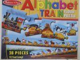 Melissa and Doug Floor Puzzles Alphabet Train Melissa Doug Alphabet Train Floor Puzzle 28 Pcs 10 Feet Long Ebay