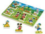 Melissa and Doug Floor Puzzles Amazon Com Melissa Doug Disney Mickey Mouse Clubhouse Wooden