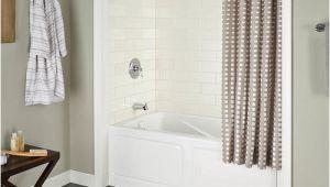 Menards Acrylic Bathtubs Eljer Cabrillo soaking Bathtub with Integral Apron at Menards