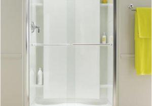 Menards Bathtub Doors Sterling Finesse Frameless by Pass Shower Door at Menards