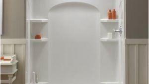 "Menards Bathtub Drain Kit Ensemble 60"" X 30"" End Drain High Gloss Shower Stall Left"