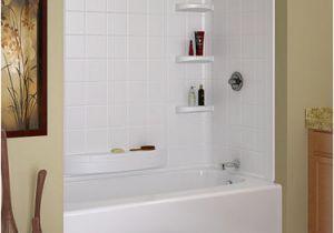 "Menards Bathtub with Surround Indulgence 60"" X 30"" 3 Piece Bathtub Wall Set at Menards"