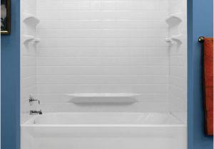 Menards Bathtub with Surround Lyons Palm Springs Tile Sectional Bathtub Wall Kit at Menards