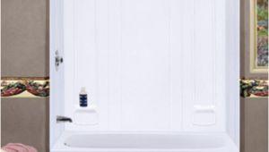Menards Bathtubs and Surrounds Durawall Bathtub Wall at Menards $294 60