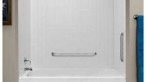 Menards Bathtubs Surrounds Lyons tough Tile Sectional Bathtub Wall Kit at Menards