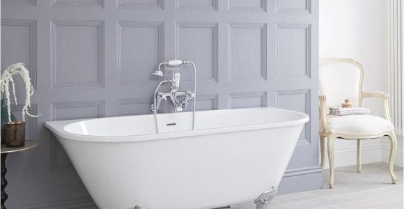 "Menards Freestanding Bathtubs Acrylic Back to Wall Freestanding Bath Tub 60"""