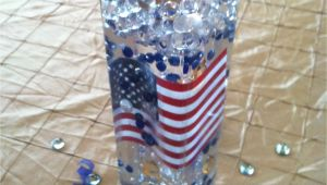 Military Retirement Decoration Ideas Military Retirement Centerpiece with Flag and Candle Retireme