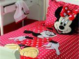 Minnie Mouse Comforter Set Full Size Decor Mickey and Minnie Mouse Bedding Queen Size Minnie Bedroom Setg
