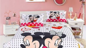 Minnie Mouse Comforter Set Twin Size Mickey and Minnie Mouse Double Bedding Set Everything Mickey Mouse