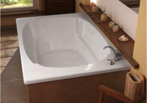 Modern Whirlpool Bathtubs Venzi Grand tour Aqui 48 X 78 Corner Air & Whirlpool