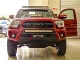 N Fab Light Bar Brackets N Fab Trd Pro Build toyota Tacoma Front Leds Shot