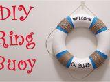 Nautical Lifesaver Decor Diy Ring Buoy Diy Home or Party Decor D Youtube
