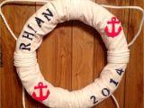 Nautical Lifesaver Decor Life Saver for Nautical Nursery theme My Creations Pinterest