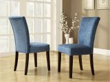 Navy Blue Parsons Dining Chairs Chair Used Dining Room Chairs Elegant Kitchen Chairs with Casters