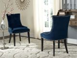 Navy Blue Parsons Dining Chairs Safavieh En Vogue Dining lester Navy Dining Chairs Set Of 2