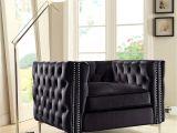 Navy Blue Sectional sofa Amazon Iconic Home Da Vinci Accent Club Chair Velvet button