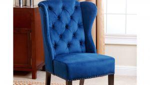 Navy Velvet Parsons Chair Chair Velvet Tufted Dining Chair Lovely Velvet Dining Chairs New