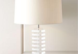 Neiman Marcus Buffet Lamps Clear Acrylic Lamp Neiman Marcus