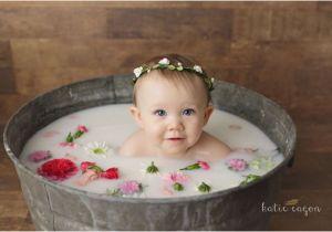 Newborn Baby Girl Bathtub Ensaio Milk Bath 16 Inspirações Para Fotos Em Um Banho De
