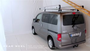 Nv200 Ladder Rack Nissan Nv200 Roof Rack Alurack Youtube