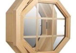 Octagon Window Interior Trim Kit Jjj Specialty Cabin Breeze 4 Season Wood Octagon Window 01 501 L