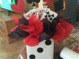 Office Retirement Decoration Ideas Casino themed Birthday Party Centerpiece Casino N