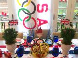 Olympic themed Office Decorations Olympic Party Decorations Party Ideas Pinterest Olympics