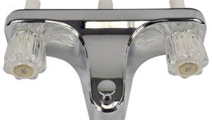 One Piece Bathtub Faucet Mobile Home Rv Tub Shower Faucet 2 Valve Diverter Chrome
