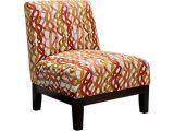 Orange and White Accent Chair Basque Citrus orange Accent Chair Accent Chairs