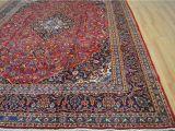Oriental area Rugs 9×12 9 9×12 10 Kpsi 140 Authentic Semi Antique Persian Kashan Handmade