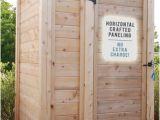 Outdoor Bathroom Kit Outdoor Showers Enclosures Cedar Pvc