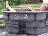 Outdoor Bathtub Diy Japanese soaking Tub Outdoor Diy Water Trough Hot Tub