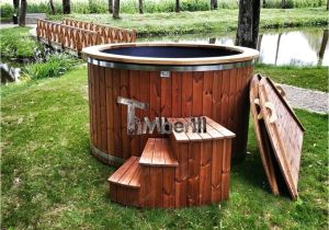 Outdoor Bathtub for Sale Electricity Heated Outdoor Jacuzzi thermo Wood Hot Tub