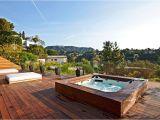 Outdoor Bathtub Los Angeles Los Angeles Hot Tub Decks Deck Contemporary with Sunken