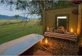 Outdoor Bathtub south Africa Ruckomechi Camp Mana Pools