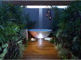 Outdoor Bathtub Tropical Outdoor Bathtubs Creating Spiritual Connection with Nature