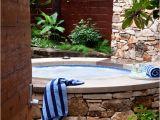 Outdoor Bathtub Tulum 65 Awesome Garden Hot Tub Designs Digsdigs