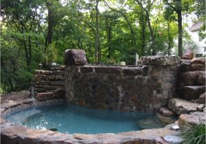 Outdoor Bathtub Winter In Ground Hot Tub Designs