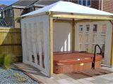 Outdoor Bathtubs Uk Hot Tub Enclosures Gazebos Canopies Chalets & Barn