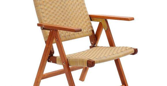 Outdoor Folding Chair Amazon Com Achla Designs Eucalyptus Wood Indoor Outdoor Polyweave
