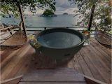 Outdoor soaking Bathtub Garden Outdoor Round Spa Bathtub Dutch Hot Tub Outdoor