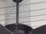 Outside Fans with Lights How I Keep Birds Off Of My Porch Chicken Wire is A Versatile