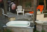Outside Of Bathtub Outdoor Bathtub