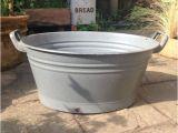 Oval Bathtubs Uk Vintage Enamel Oval Wash Tub Bath Tub Tin Bath by Embergate