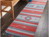 Overstock Kitchen Runner Rugs Nourison Baja Moroccan Grey Red Runner Rug 2 3 X7 6 Overstock