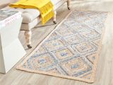 Overstock Kitchen Runner Rugs Safavieh Cape Cod Handmade Natural Blue Jute Natural Fiber Rug 2