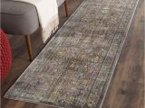 Overstock Kitchen Runner Rugs Safavieh Valencia Grey Multi Distressed Silky Polyester Rug 2 3 X